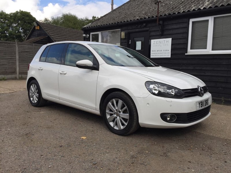 used VW Golf MATCH TDI BLUEMOTION TECHNOLOGY in essex