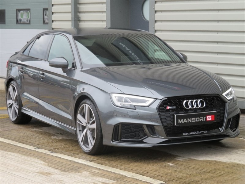 used Audi RS3 2.5 TFSI Saloon S Tronic quattro 5dr in cheshire