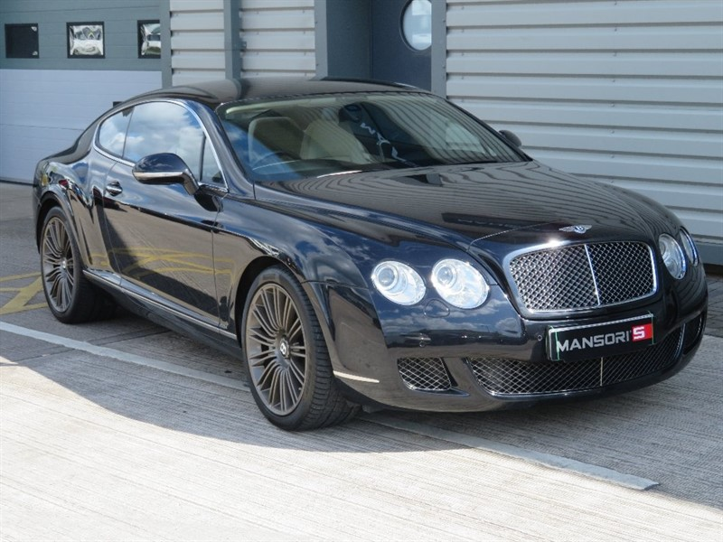 used Bentley Continental Speed W12 GT 2dr in cheshire