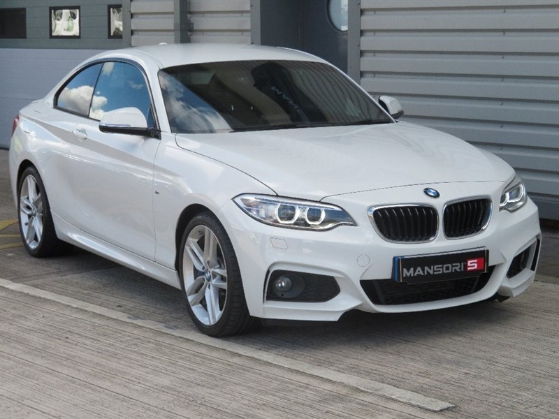 used BMW 218d 2 Series M Sport Auto 2dr (start/stop) in cheshire