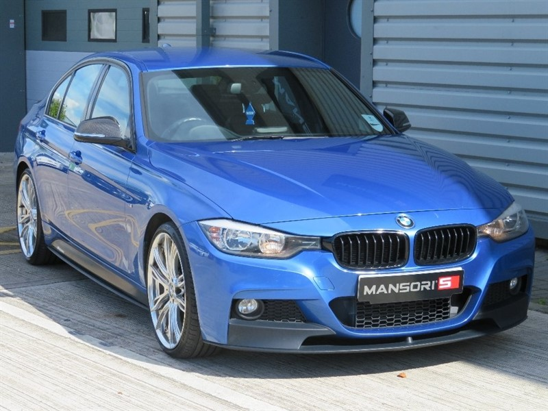 used BMW 320d 3 Series M Sport 4dr (start/stop) in cheshire