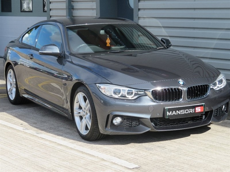 used BMW 420d 4 Series M Sport 2dr in cheshire