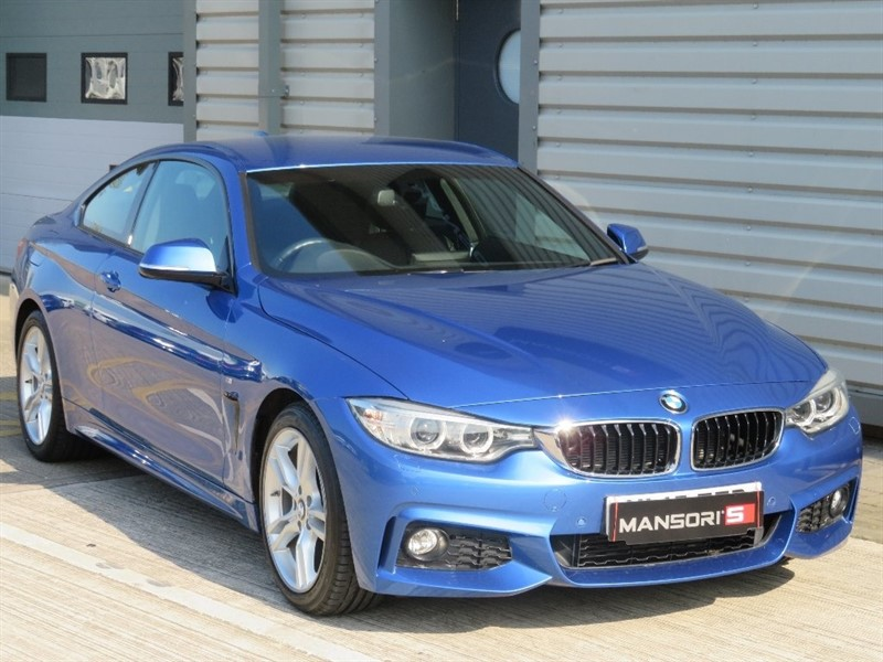 used BMW 420i 4 Series M Sport 2dr in cheshire