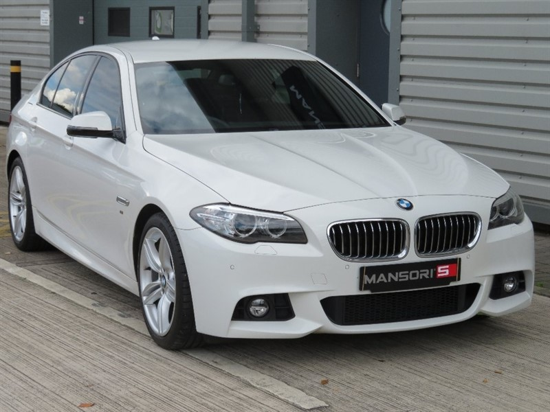 used BMW 520d 5 Series M Sport 4dr in cheshire