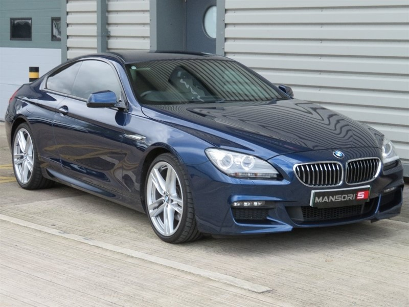 used BMW 640d 6 Series M Sport Coupe Auto 2dr in cheshire