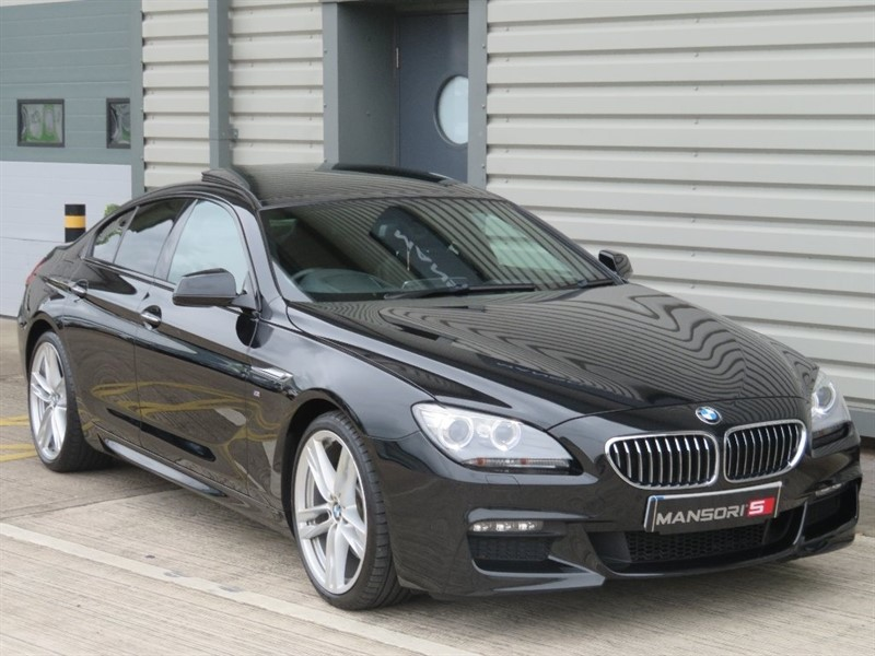 used BMW 640d 6 Series Gran Coupe M Sport 4dr in cheshire