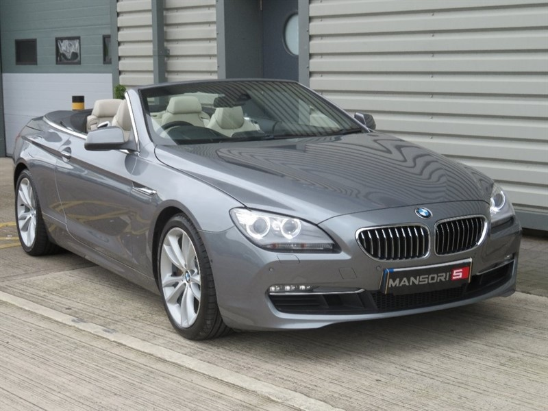 used BMW 640i 6 Series SE Auto 2dr in cheshire