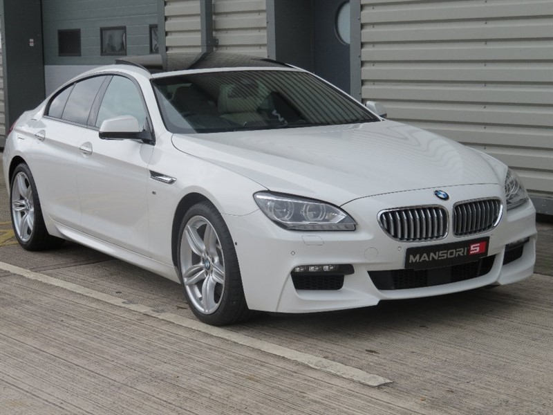 used BMW 650i 6 Series Gran Coupe 4.4 M Sport 4dr in cheshire
