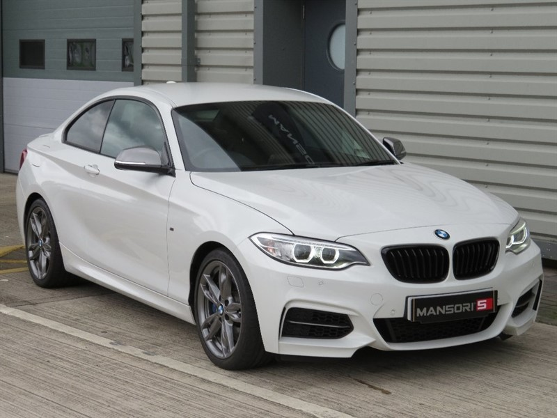 used BMW M235i 2 Series 2dr (start/stop) in cheshire