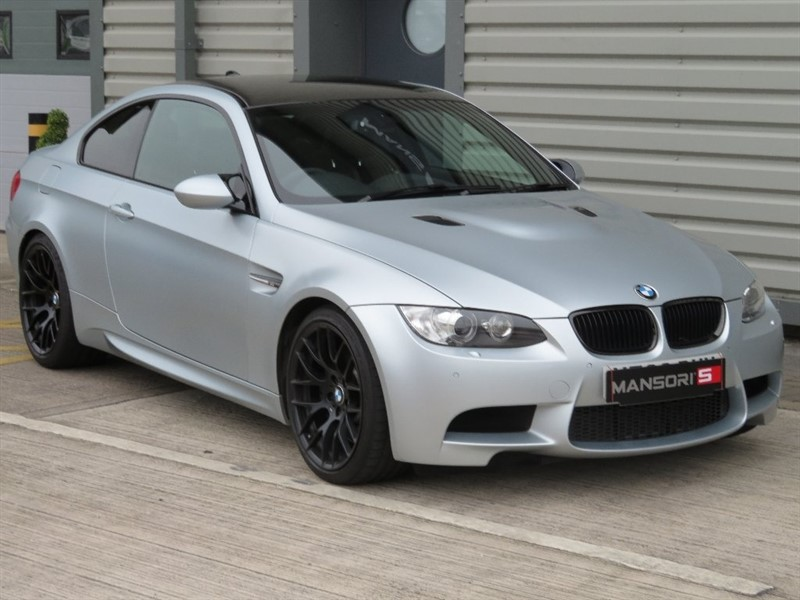 used BMW M3 V8 Frozen Silver DCT 2dr in cheshire