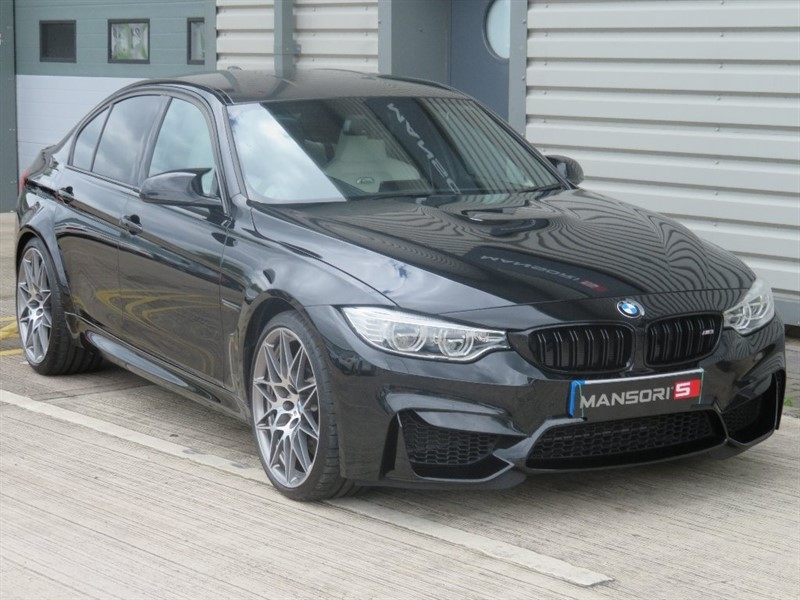 used BMW M3 M3 (Competition pack) Saloon M DCT 4dr (start/stop) in cheshire