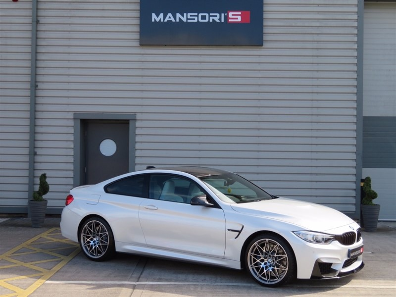 used BMW M4 (Competition pack) DCT 2dr in cheshire
