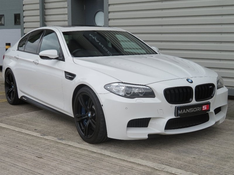 used BMW M5 DCT 4dr in cheshire