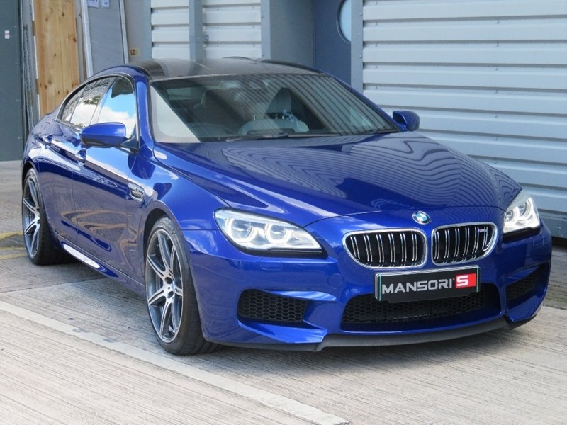 used BMW M6 Gran Coupe DCT 4dr in cheshire