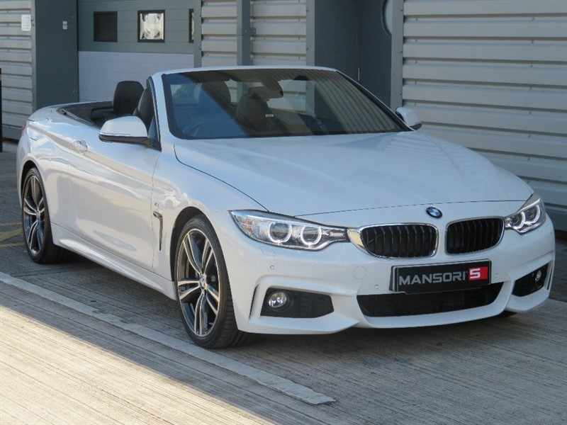 used BMW  4 Series 430i M Sport Auto 2dr in cheshire