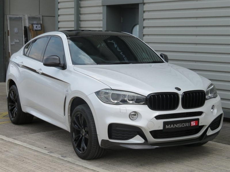 used BMW X6 40d M Sport Station Wagon Steptronic xDrive 5dr in cheshire