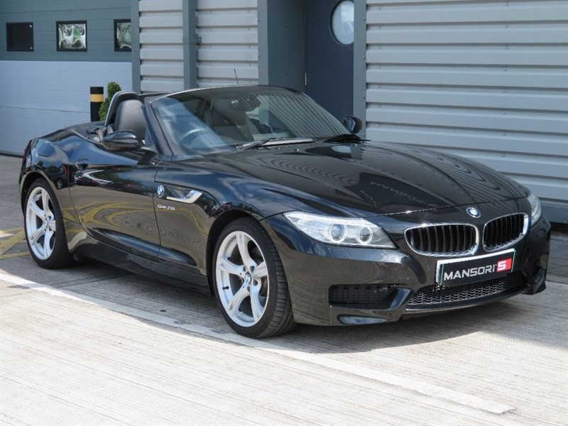 used BMW Z4 28i M Sport sDrive 2dr (start/stop) in cheshire