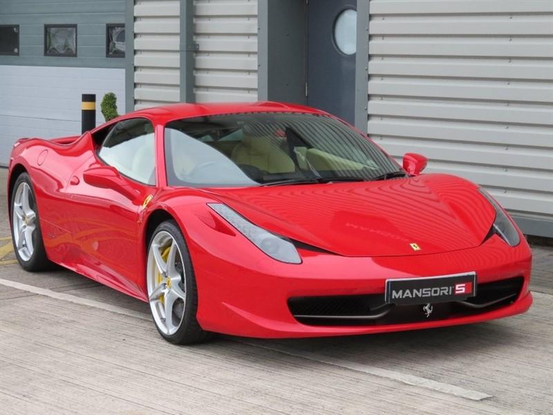 used Ferrari 458 Italia Auto Seq 2dr in cheshire