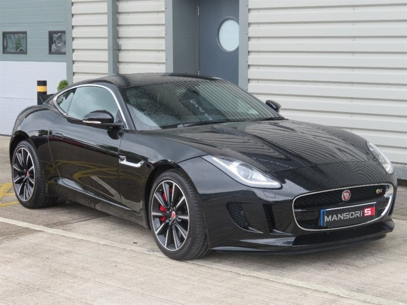 used Jaguar F-Type V6 Supercharged 2dr in cheshire