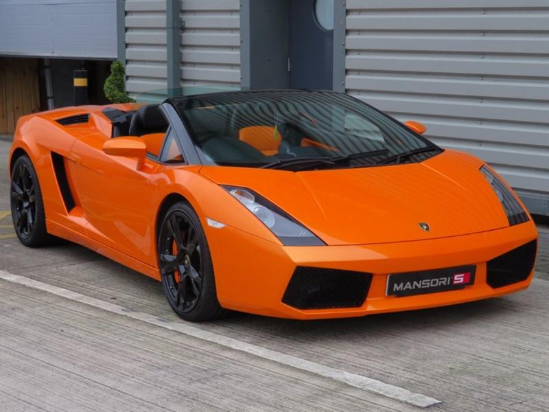 used Lamborghini Gallardo V10 Spyder E-Gear 4WD 2dr in cheshire
