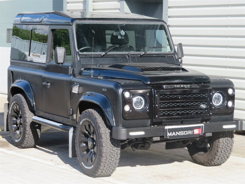 used Land Rover Defender 90 TD5 Hard Top 3dr in cheshire