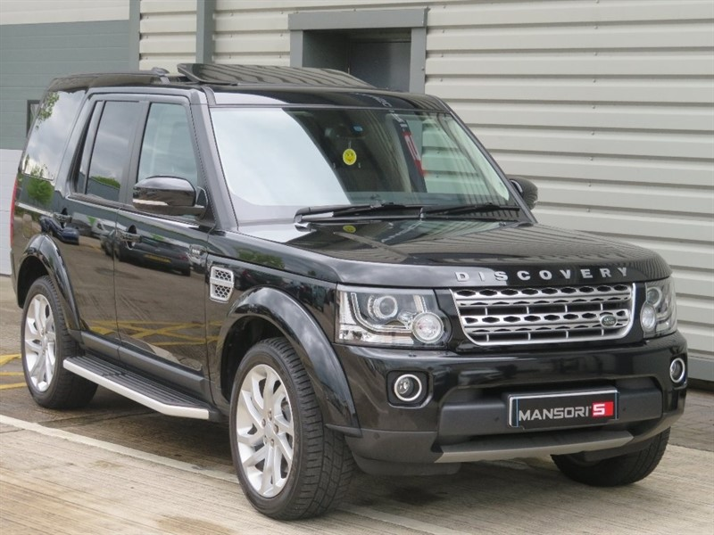 used Land Rover Discovery 4 SD V6 HSE 5dr (start/stop) in cheshire