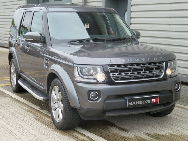 used Land Rover Discovery 4 SD V6 SE 5dr (start/stop) in cheshire