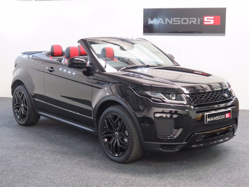 used Land Rover Range Rover Evoque TD4 HSE Dynamic LUX 4x4 2dr (start/stop) in cheshire