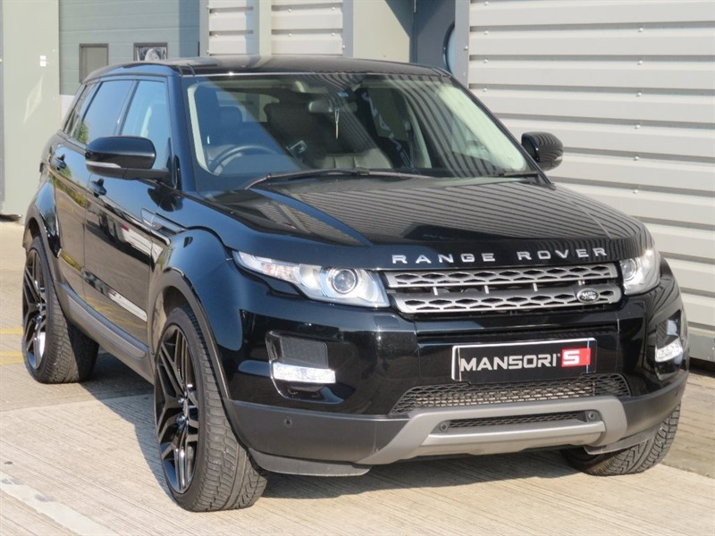 used Land Rover Range Rover Evoque SD4 Pure Tech 4x4 5dr in cheshire