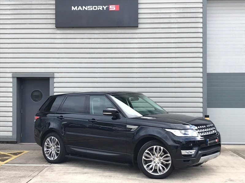 used Land Rover Range Rover Sport SD V6 HSE Station Wagon 4x4 5dr (start/stop) in cheshire
