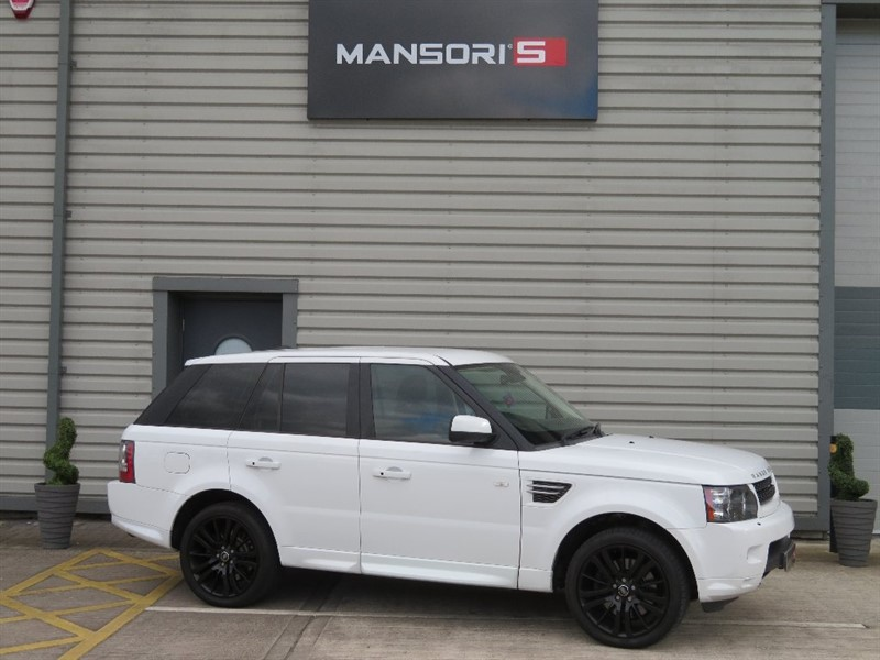 used Land Rover Range Rover Sport TD V6 HSE 5dr in cheshire