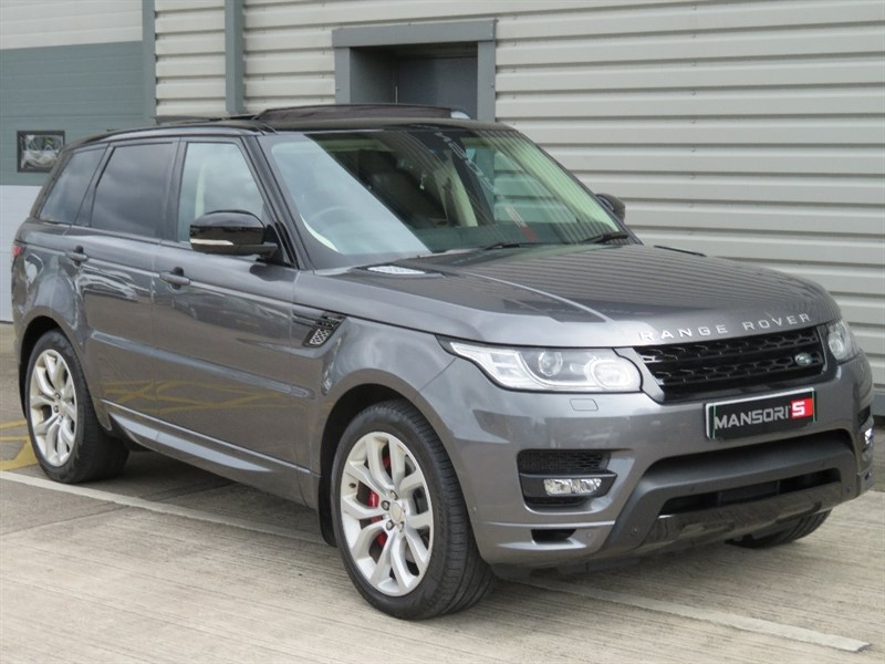 used Land Rover Range Rover Sport SD V8 Autobiography Dynamic 4x4 5dr in cheshire