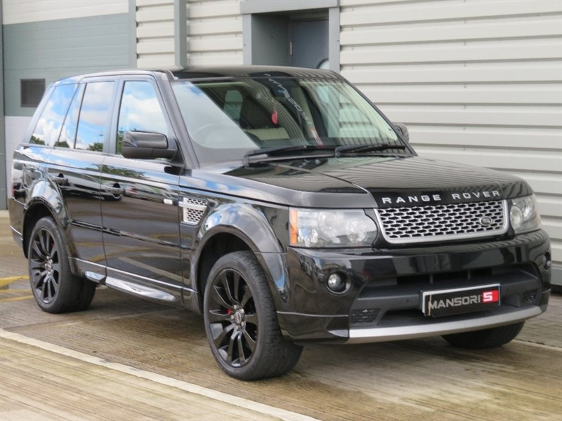 used Land Rover Range Rover Sport TD V8 Autobiography Sport LE 5dr in cheshire