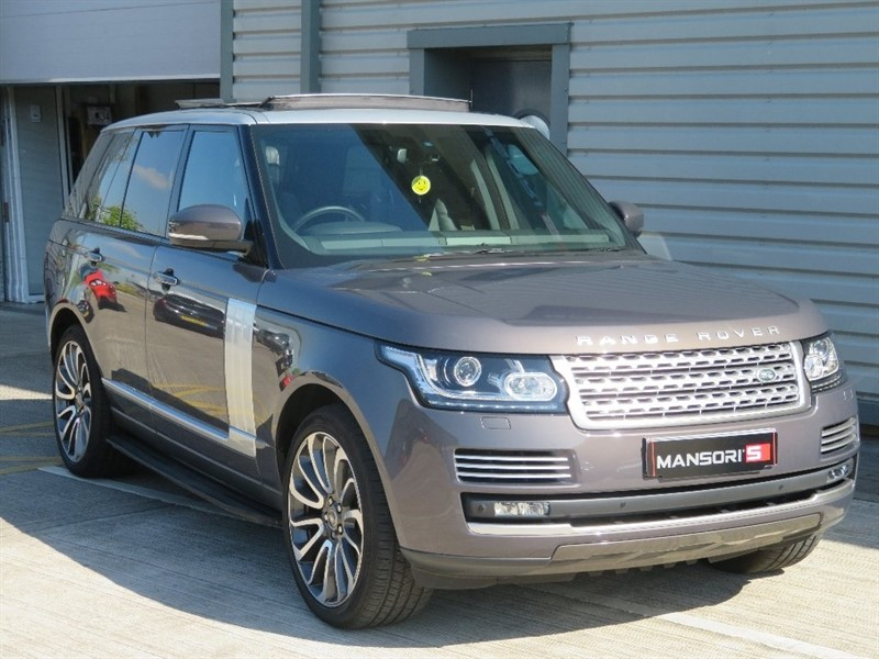 used Land Rover Range Rover TD V6 Vogue SE 4x4 5dr (start/stop) in cheshire