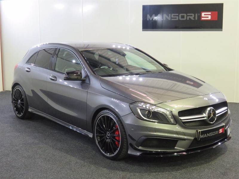 used Mercedes A45 AMG A Class 7G-DCT 4-MATIC 5dr in cheshire