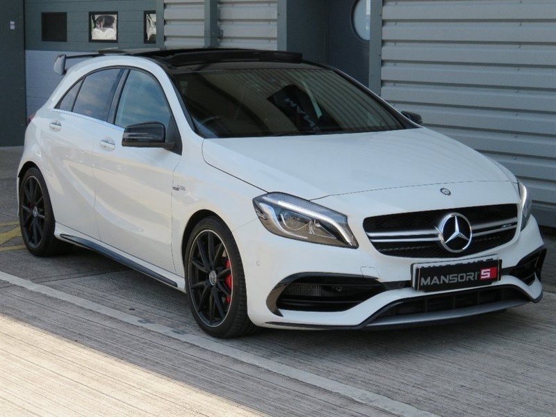 used Mercedes A45 AMG A Class (Premium) Speedshift DCT 4-MATIC 5dr (start/stop) in cheshire