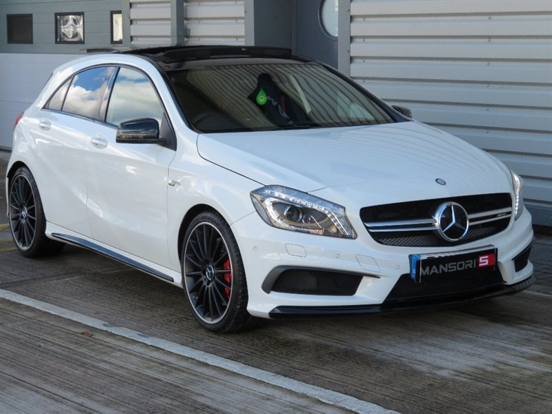 used Mercedes A45 AMG A Class 7G-DCT 4MATIC 5dr in cheshire