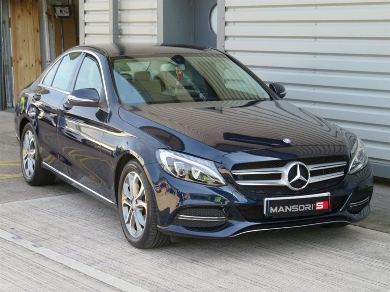 used Mercedes C220 C Class BlueTEC Sport Saloon 7G-Tronic Plus 4dr (start/stop) in cheshire
