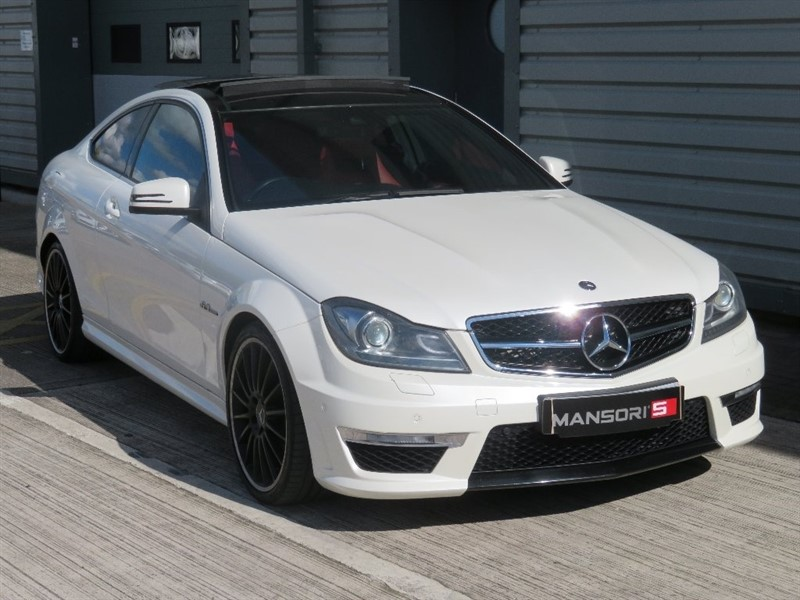 used Mercedes C63 AMG C Class 6.3 Edition 125 7G-Tronic 2dr in cheshire