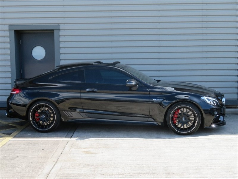 used Mercedes C63 AMG C Class S Edition 1 Coupe Speedshift MCT 2dr (start/stop) in cheshire