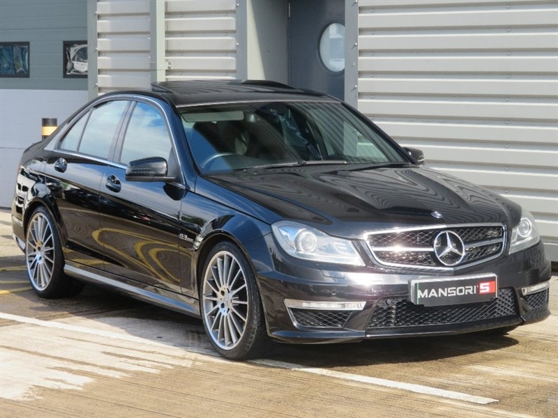 used Mercedes C63 AMG C Class 6.3 MCT 7S 4-MATIC 4dr in cheshire