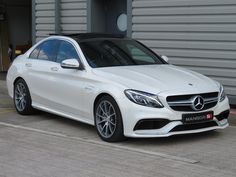 used Mercedes C63 AMG C Class Speedshift MCT 4dr (start/stop) in cheshire