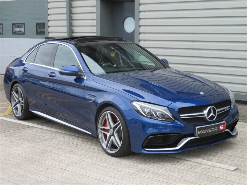 used Mercedes C63 AMG C Class S 4dr (start/stop) in cheshire