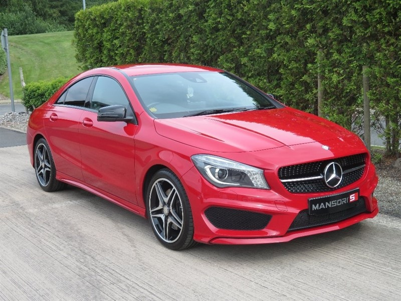 used Mercedes CLA 220 CLA Class CDI AMG Sport 7G-DCT 4dr (start/stop) in cheshire