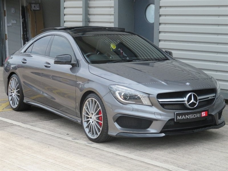 used Mercedes CLA45 AMG CLA Class Speedshift DCT 4-MATIC 4dr (start/stop) in cheshire