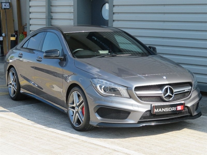 used Mercedes CLA45 AMG CLA Class Speedshift DCT 4-MATIC 4dr in cheshire