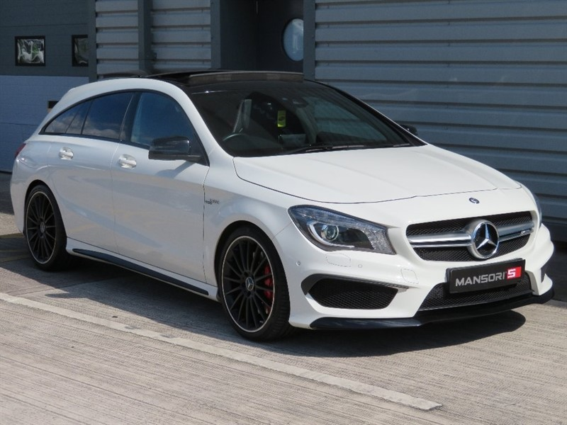 used Mercedes CLA45 AMG CLA Class Shooting Brake Speedshift DCT 4-MATIC 5dr (start/stop) in cheshire