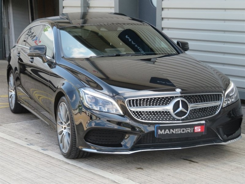 used Mercedes CLS CLS220 AMG Line (Premium) Shooting Brake 7G-Tronic Plus 5dr (start/stop) in cheshire