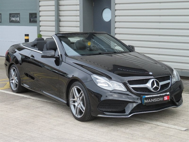 used Mercedes E220 E Class CDI AMG Sport Cabriolet 7G-Tronic Plus 2dr in cheshire