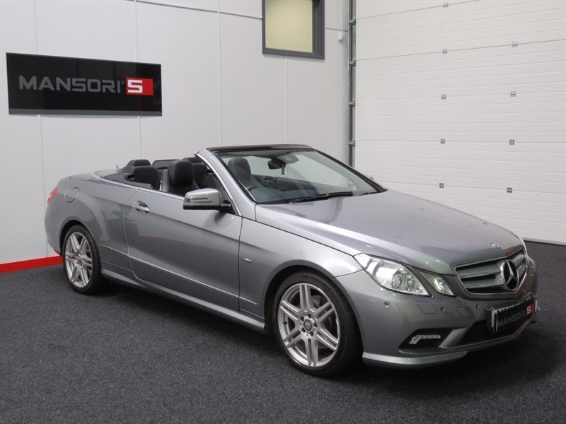 used Mercedes E250 E Class BlueEFFICIENCY Sport 7G-Tronic 2dr in cheshire